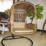 凰家御器藤华那吊椅摇椅休闲椅太阳椅藤家具NH-Y031