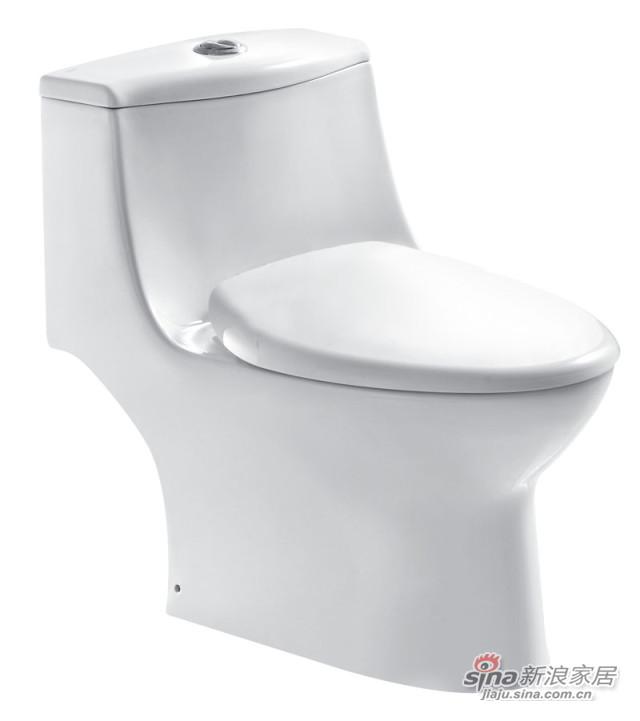 和成卫浴单体省水马桶C4273T-1