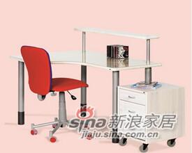 芙莱莎-L型书桌-1