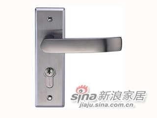 雅洁AS2051-F1631A-P1冲压不锈钢锁+镜光-0