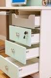 迪士尼儿童彩色家具-冰雪米奇桌