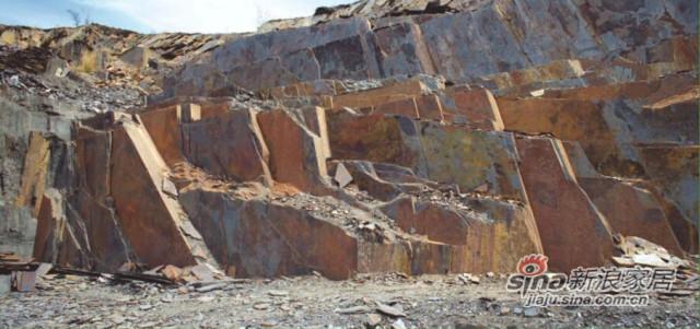 静林天然板岩Rustic Slate