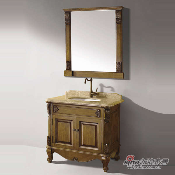 泰陶浴室柜TA-Q1仿古柜-1