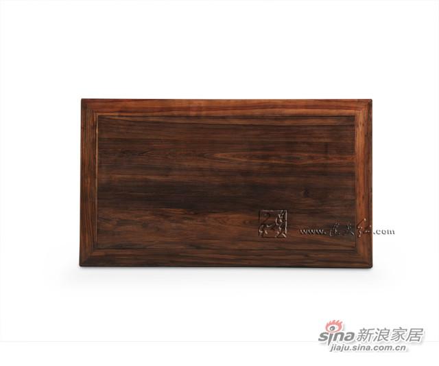 连天红团螭纹长桌-4