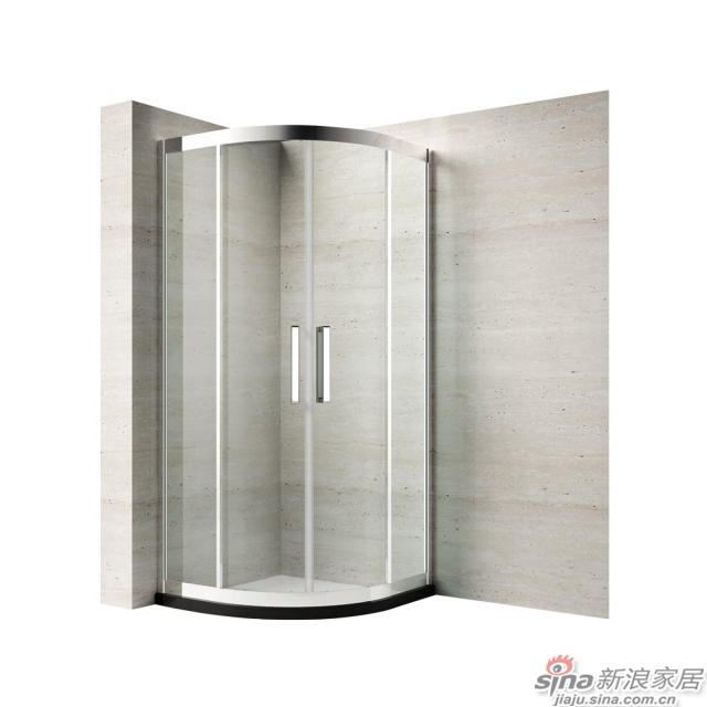 恒洁卫浴淋浴房HLG54S42