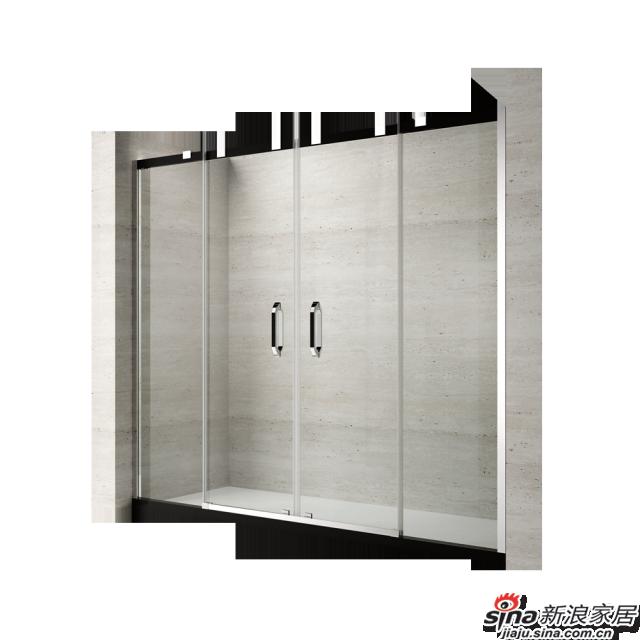 恒洁卫浴淋浴房HLG55Y42