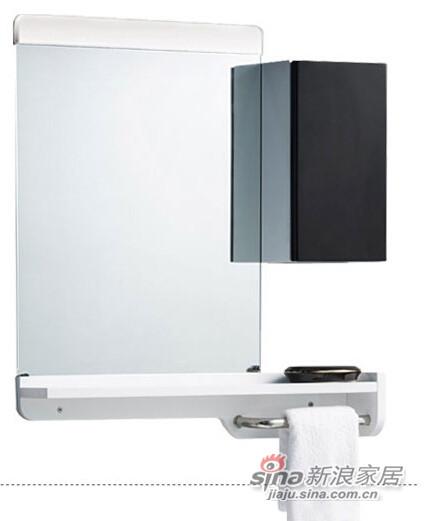 九牧卫浴柜洗脸盆悬挂浴室柜组合-3