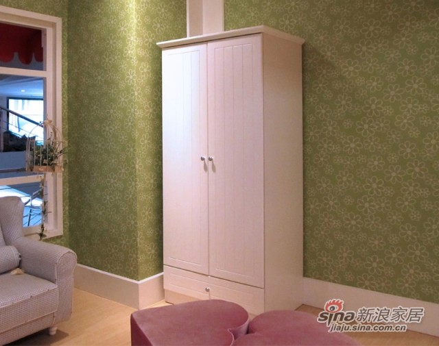 【新干线】板式两门衣柜衣橱-2