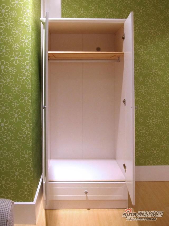 【新干线】板式两门衣柜衣橱-3