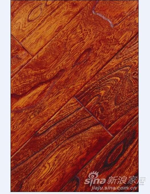 上臣榆木F7-F-1路易古堡实木复合地板 -0