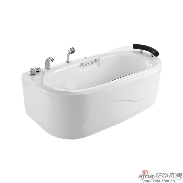 恒洁卫浴浴缸HLB603SNS1-163