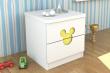迪士尼彩色板式床头柜