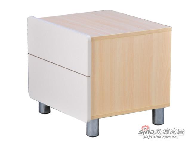 华源轩BJ-R822B床头柜-1