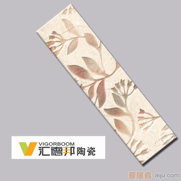 汇德邦瓷片-品味悉尼系列-繁花锦簇-YC45706Y01(300*80MM)1