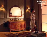 法恩莎卫浴仿古实木柜FPGM4626A-F