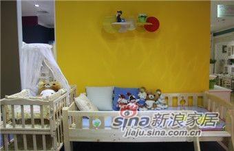 ABC实木儿童家具LH-B026A小矮床-0