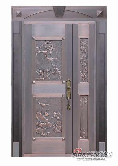 雅帝乐铜门D-P1-5002-F1(和睦家庭)-0
