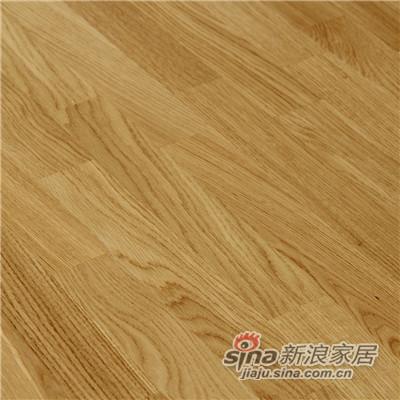 德合家BEFAG三层实木复合地板B55602三拼自然橡木-1