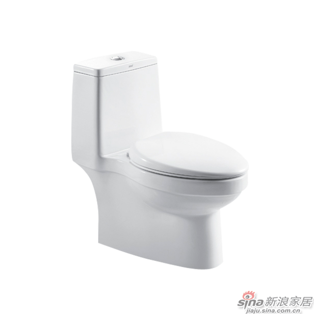 恒洁卫浴坐便器H0133D