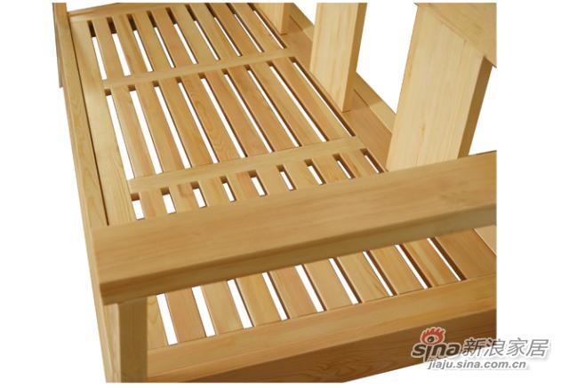 艾森木业名松屋松木系列全实木三人沙发-2