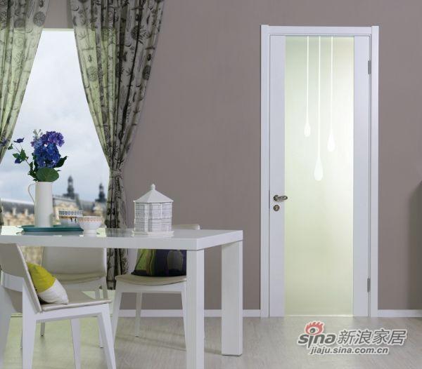 (雨露)油漆门 室内门 BL-015 TATA木门-1