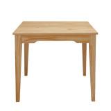 喜梦宝实木家具 实木餐桌方桌