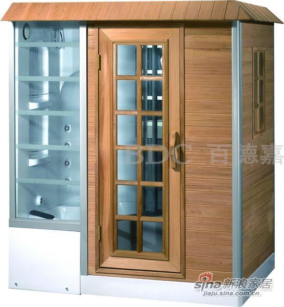百德嘉淋浴房-H450301桑拿房-0