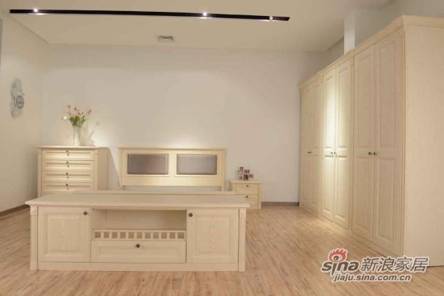 床脚收纳边柜 实用多功能配套矮柜-0