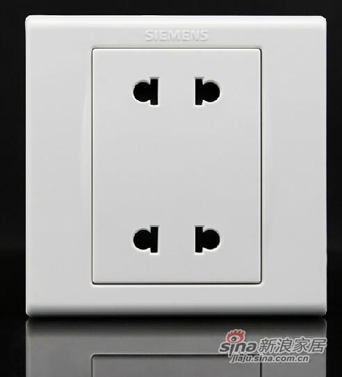 西门子四孔电源插座
