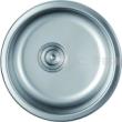 百德嘉五金龙头挂件-H761010不锈钢单圆槽