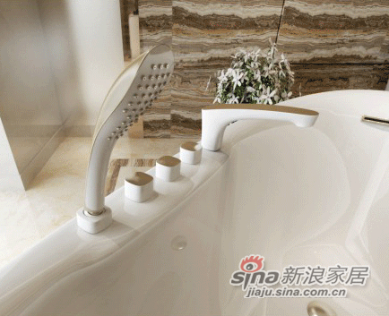 安华卫浴五件套浴缸anW047Q-1