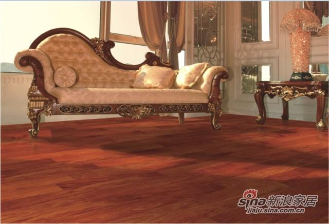 安信实木地板香脂木豆-0