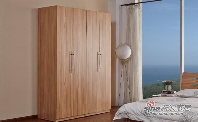 天坛现代简约板式衣柜-0