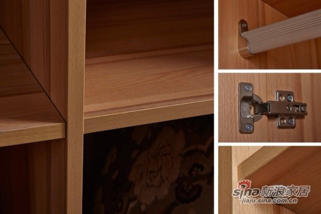 天坛现代简约板式衣柜-1