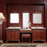 阿洛尼浴室柜-欧式仿古柜-A1804组合柜