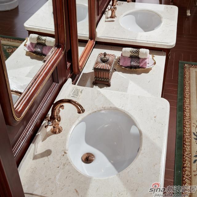 阿洛尼浴室柜-欧式仿古柜-A1804组合柜-1