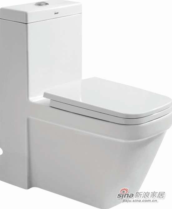 华盛卫浴连体座便器HTZ1004