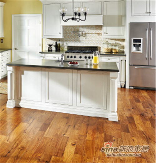 安信非洲花梨(刺猬紫檀) 美式古典实木地板