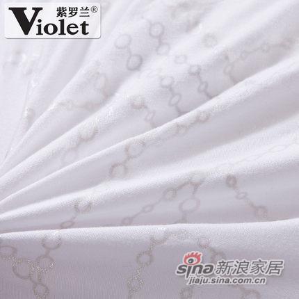 紫罗兰家纺 枕头 羽丝绒护颈椎枕芯-1