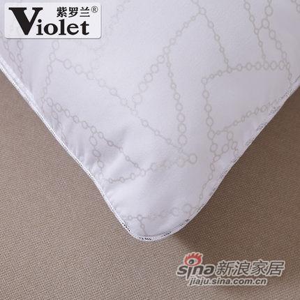 紫罗兰家纺 枕头 羽丝绒护颈椎枕芯-2