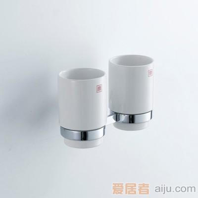 雅鼎-冰清玉洁系列-陶瓷双杯70270161