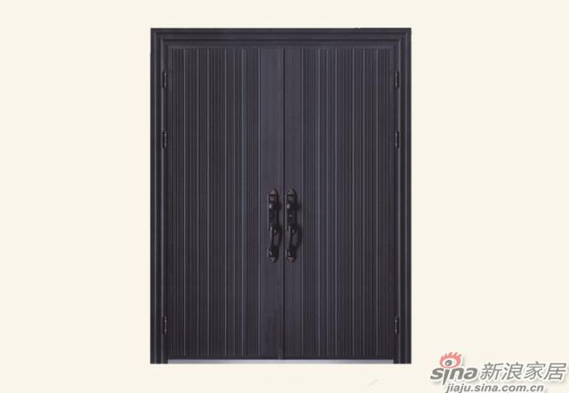 王力全自动防盗门-铸铝门系列