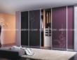 联邦高登衣柜烤漆玻璃移门――紫罗兰