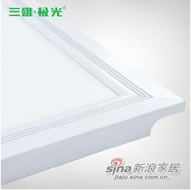 三雄极光晶照 LED厨房浴室卫生间平板灯-2