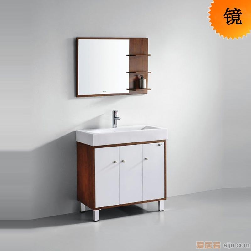 法恩莎实木浴室柜FPGM4683J镜子(800*120*600mm)1
