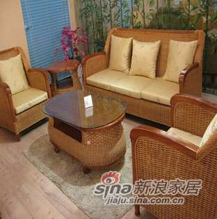 凰家御器藤椅豪华沙发高档沙发组合NH-Y802-0