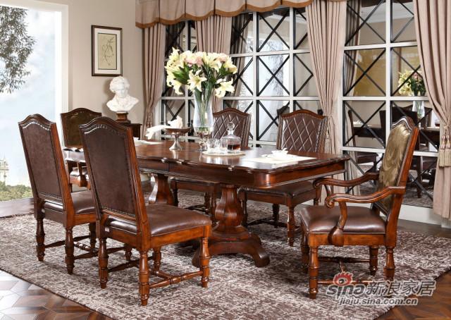 新古典605餐台餐椅-3