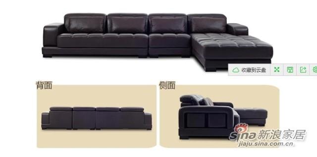 左右沙发真皮沙发-3