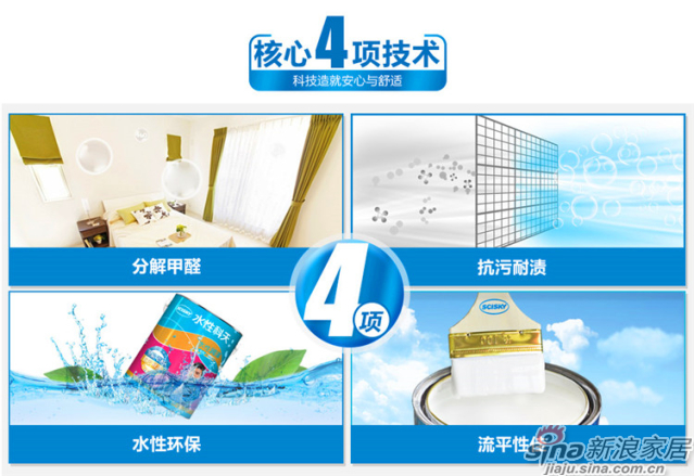 水性润泽全效内墙乳胶漆5L-6