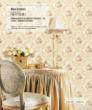柔然壁纸 欧式大马士革花型无纺墙纸